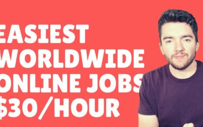 Easiest Worldwide Work-From-Home Jobs That Pay $30/Hour 2021