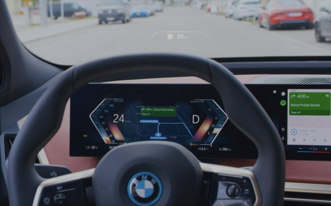 Android Auto in the new BMW iX