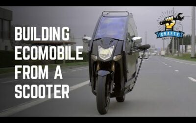 Making a futuristic motorcycle