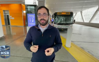 California High-Speed Rail Authority tours the Salesforce Transit Center