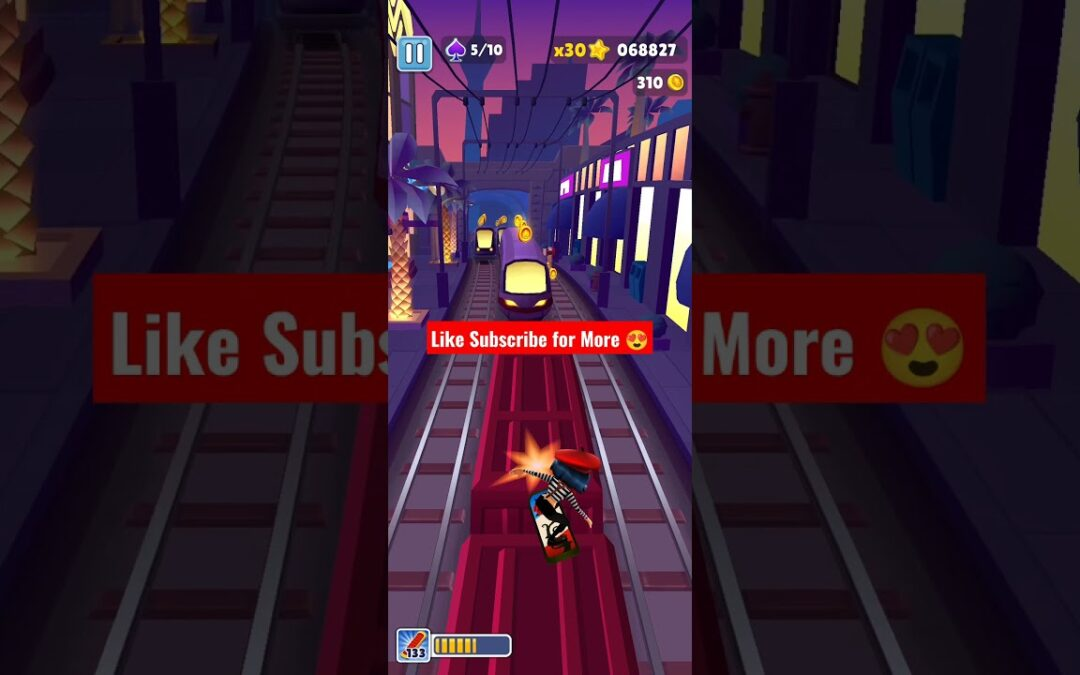 Subway surfers Las Vegas New Speed | NEW HOVERBOARD Gameplay 🔥