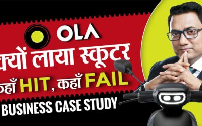 Secret Behind OLA electric scooter | Failures of OLA | Ujjwal Patni's Business Lesson