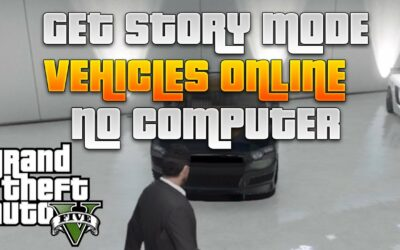GTA 5 Online – *NEW* How To MOD Single Player Vehicles ONLINE AFTER 1.10 PATCH! *NO COMPUTER*