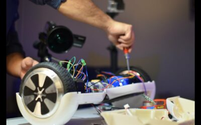 How to fix broken hoverboard with Replacement parts