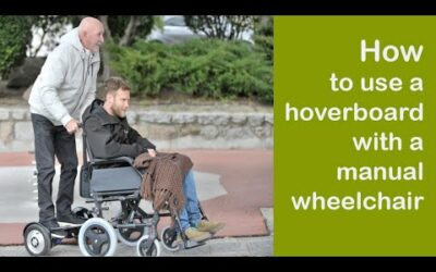 AidWheels System Hoverboard WheelChair Street Test