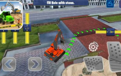 Excavator Construction Simulator Truck games 2021 Manual Excavator Mode All Levels | Android, iOS