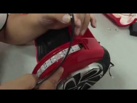 How to Replace 8 inch Hoverboard LED Lights