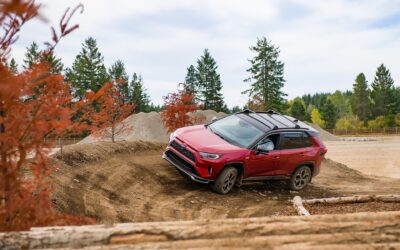 2021 Toyota RAV4 Prime is better off-road with EV Mode
