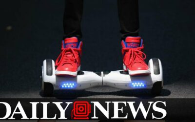 Hoverboards are Blowing Up: US and UK Officials Warn