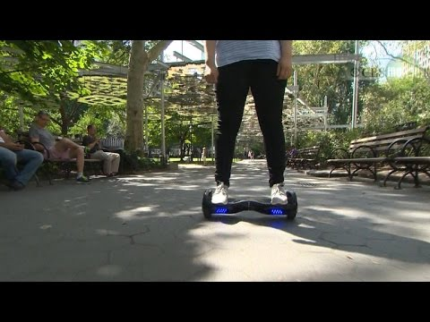 """No hoverboards at Walmart.com, how easy it is to hack into the Nissan """"Leaf"""": #CBSNBusiness headl…"""
